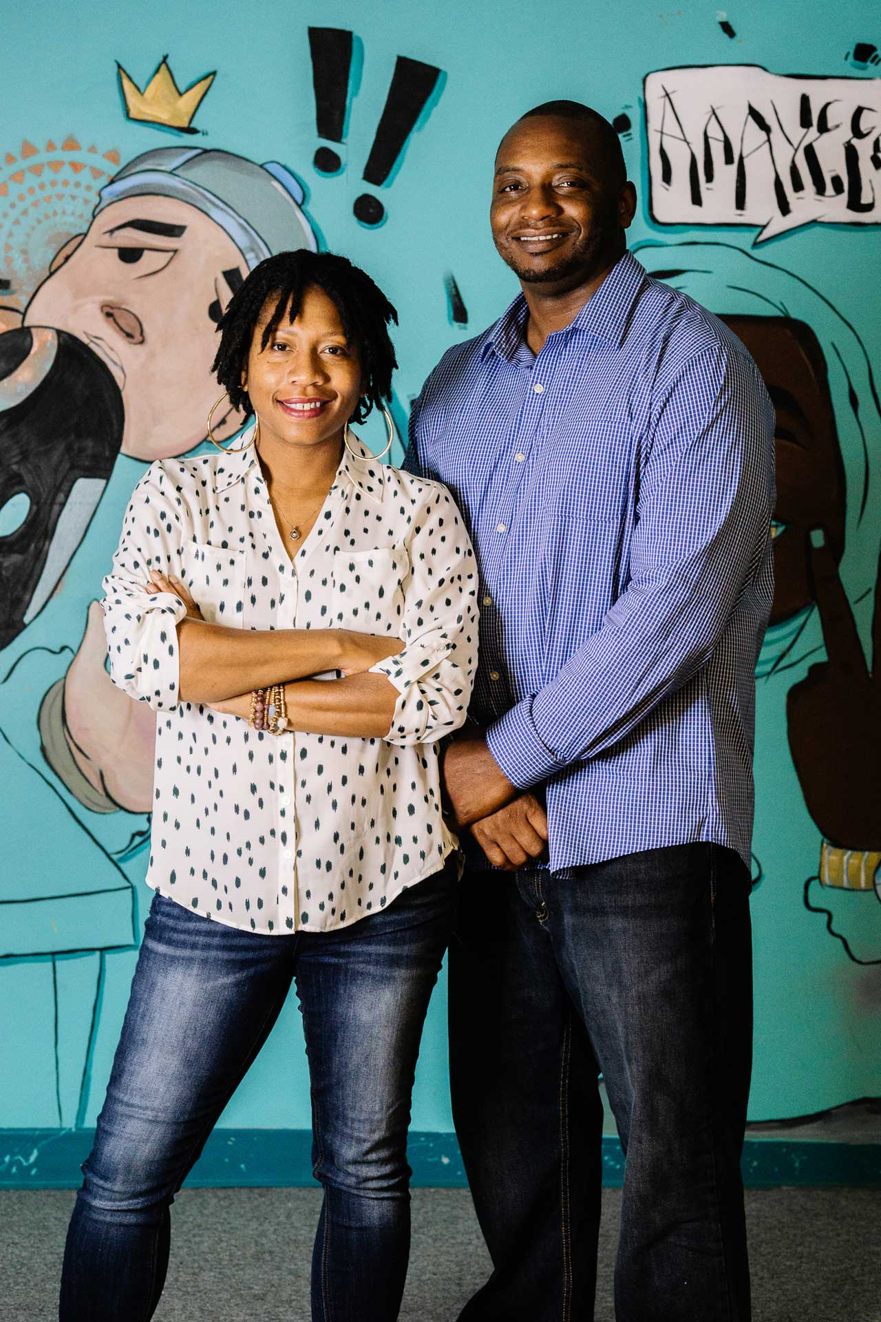 Kia and Trey Wright